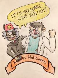good halloween pictures to draw