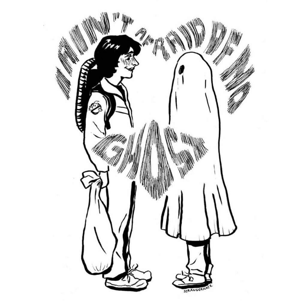 I Ain T Afriad Of No Ghost Mileven Halloween Oneshot
