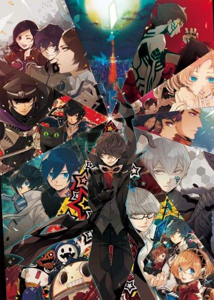 The Best of Atlus' Games.   SMT:Persona 5 Amino