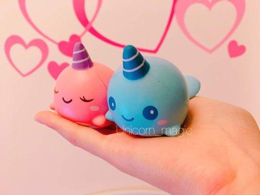 Puni Maru Rainbow Jumbo Strawberry Squishy Love Amino