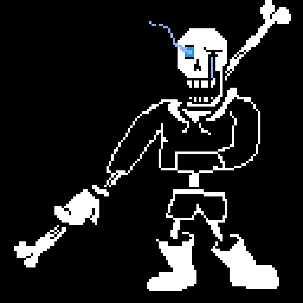 Disbelief Papyrus Phase 3 Hard Mode