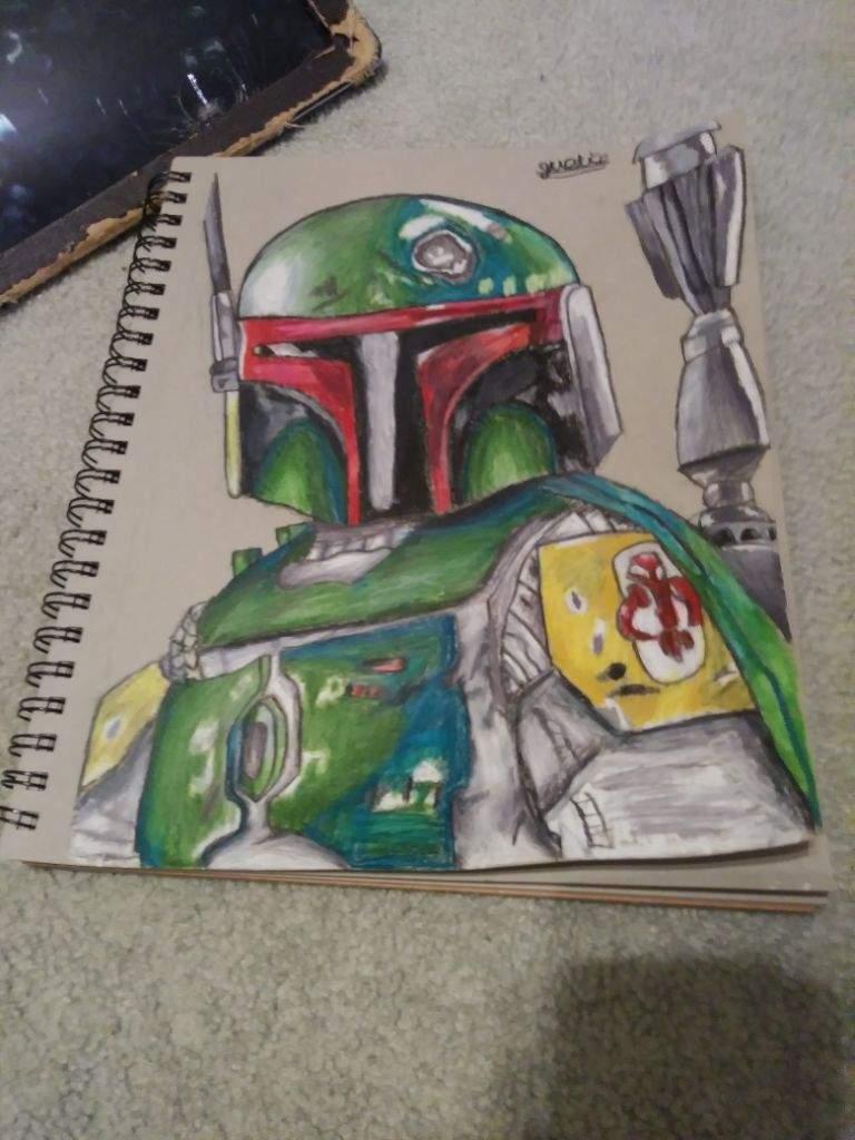 Boba Fett Drawing Star Wars Amino