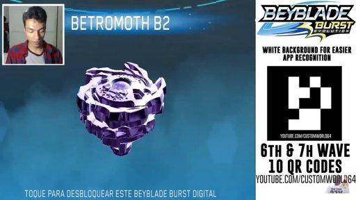 Codes Beyblade Betromoth