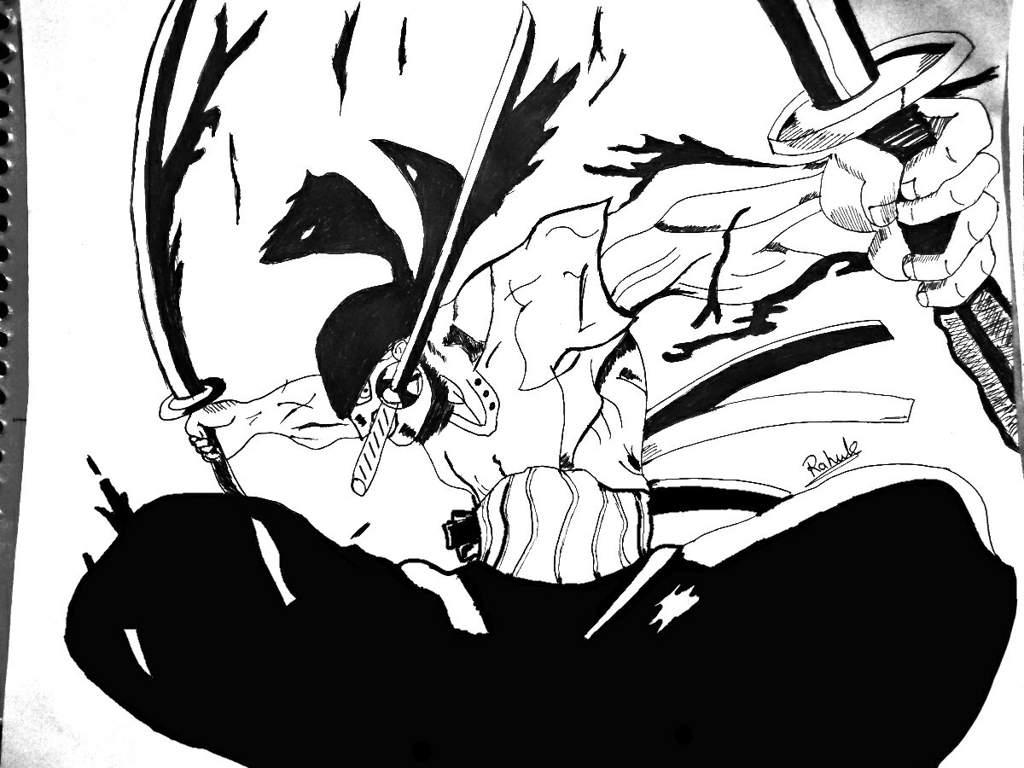 One piece zoro black and white wallpaper among the. One Piece Zoro Wallpaper Black And White | | Free ...