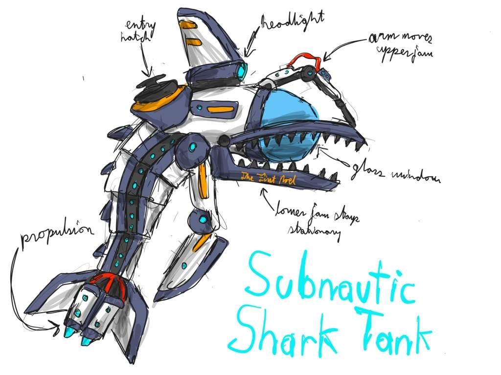 Art Leviathan Reaper Fan Subnautica
