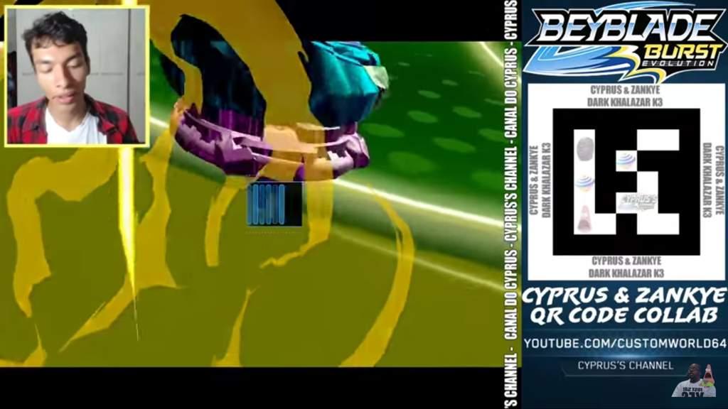Joshua Beyblade Burst Qr Code