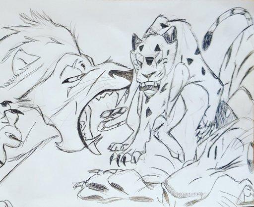 Scar The Lion King Vs Sabor Tarzan Vs Shere Khan The Jungle Book Disney Amino