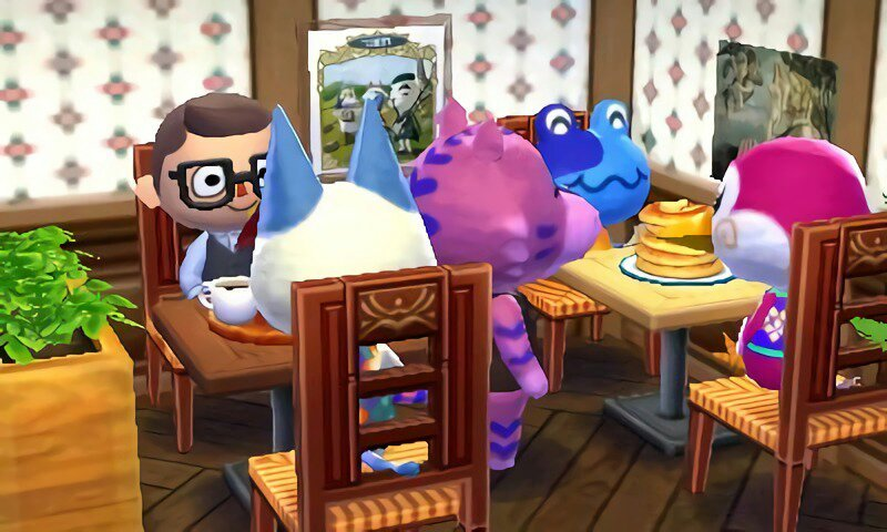 Claudia's Cozy Café (AC Café Challenge) | Animal Crossing ... on Kitchen Counter Animal Crossing  id=90214