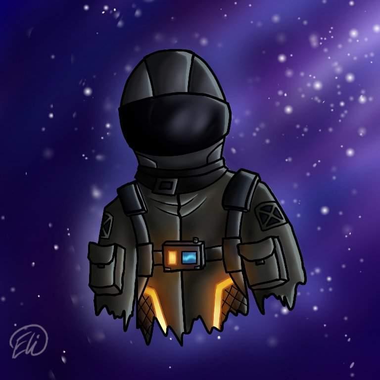 Cartoon Dark Voyager Drawing