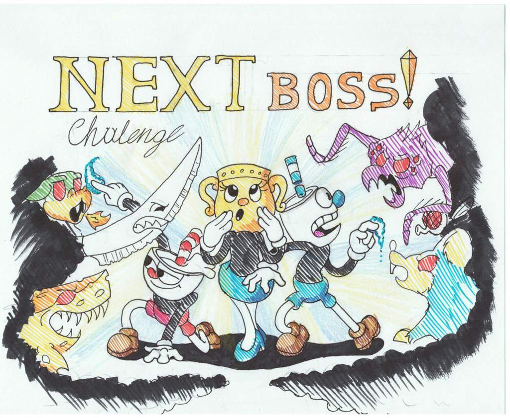 Names Boss Cuphead