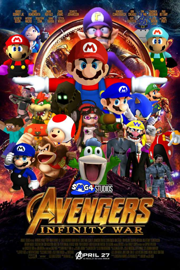 SMG4 Infinity War Part 1 SMG4 Amino