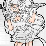 Maid Cafe Drawing Progress Gacha Life Amino