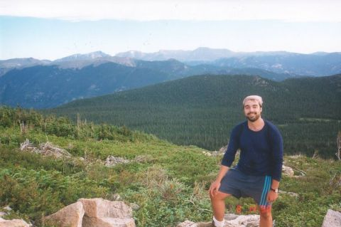 Flattop Mountain back in August 1999.