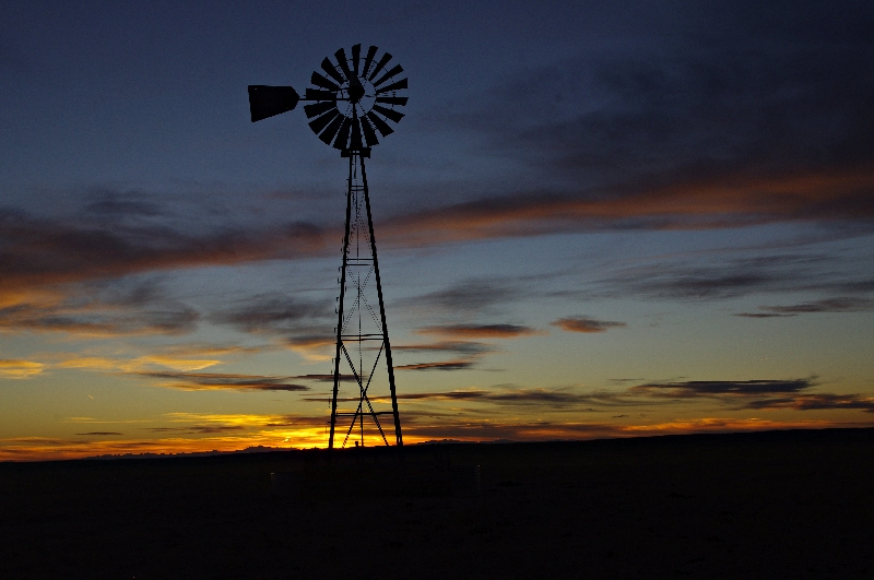 Windmill at Pawnee Grasslands