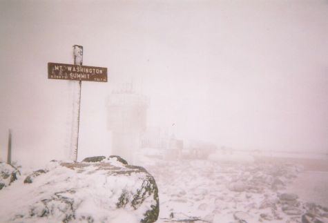 Summit of Mt. Washington