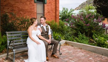 Kelly & Steven - Bisbee Wedding