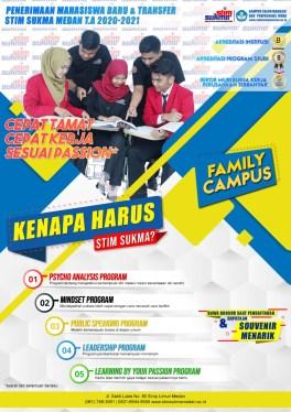 Brosur Mahasiswa Baru STIM SUKMA Medan