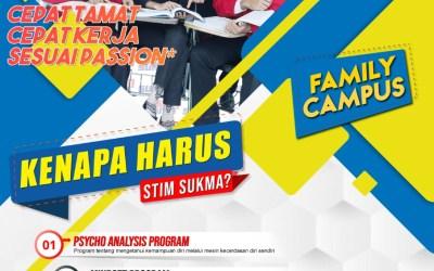 Penerimaan Mahasiswa Baru T/A 2020/2021 STIM SUKMA Medan