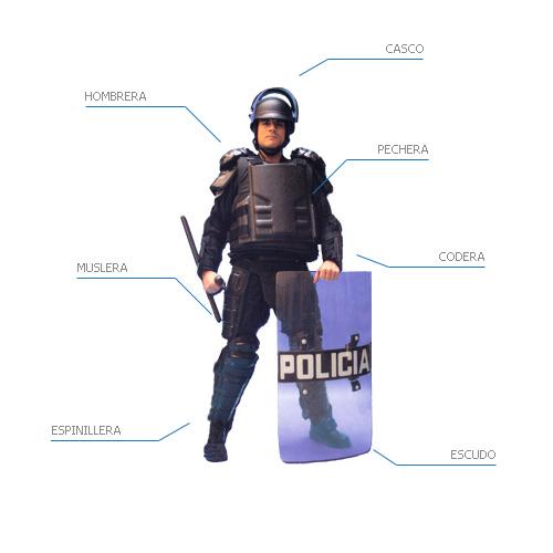 Equipo protección personal / chalecos