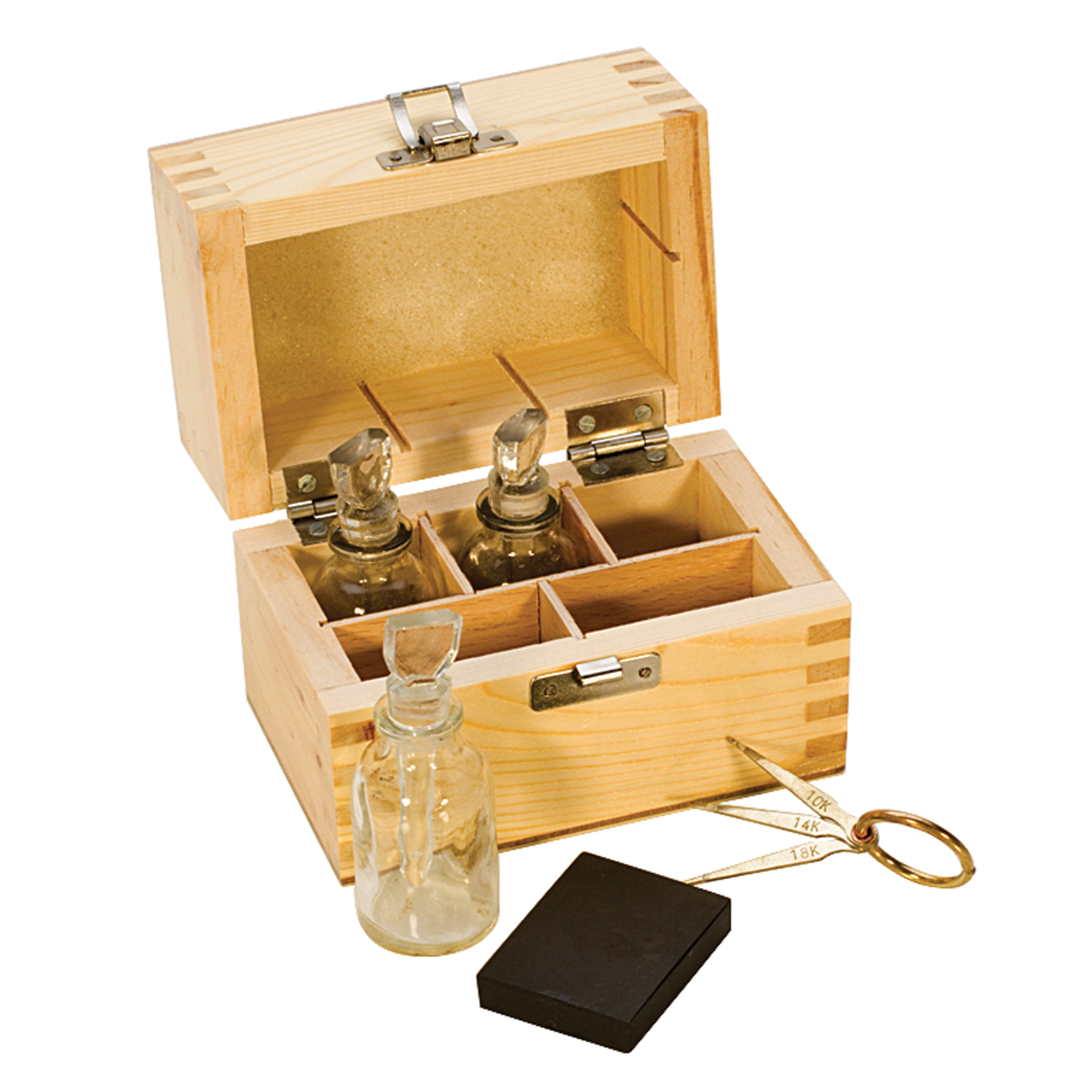 Gold Test Kit W Glass Bottles Tes 810 00