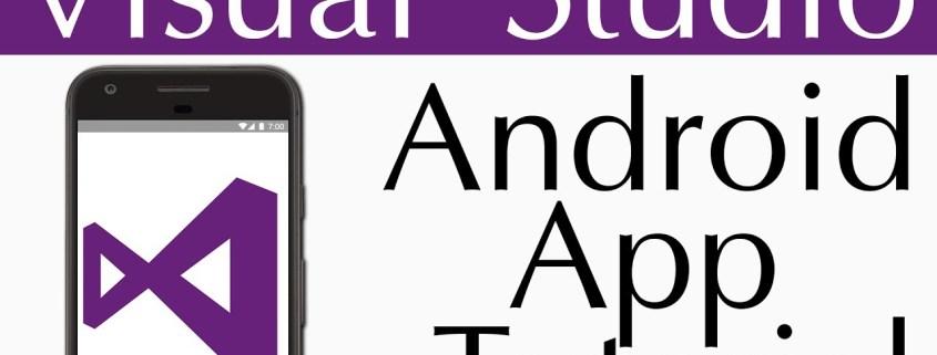 Visual Studio Android App