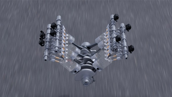 Audi S8 cylinder on demand (Animation)