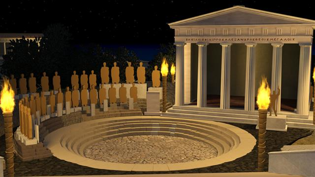 Virtual Tour Explore The Temples Of An Ancient Greek Cult
