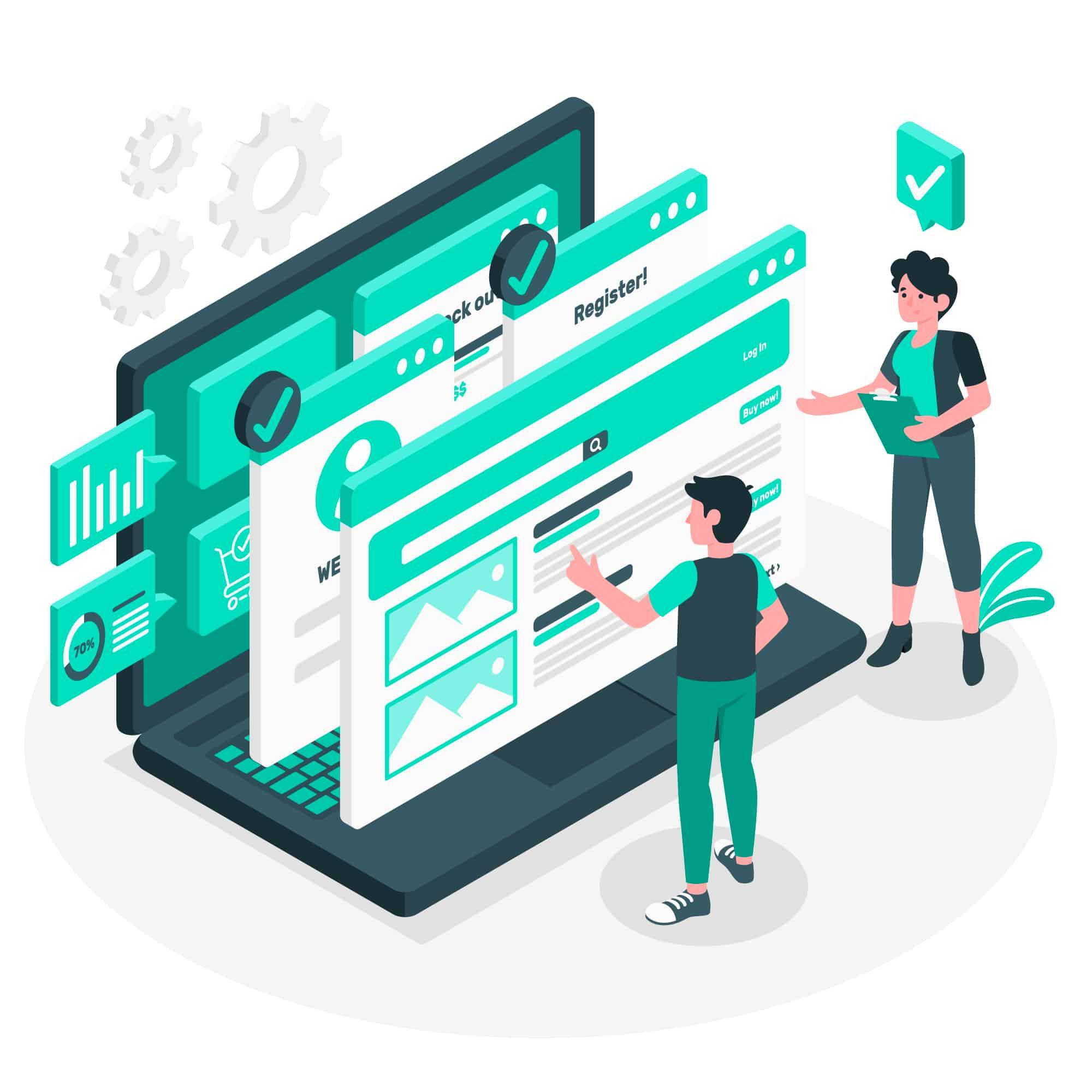 Usability Verbesserungen im Webdesign
