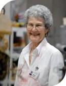 elderly lady smiling