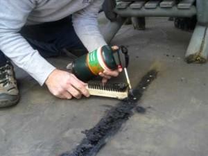 fix a leaking roof