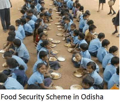 Food Security Scheme in Odisha