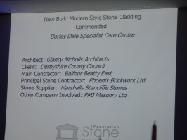 Stone Federation Awards