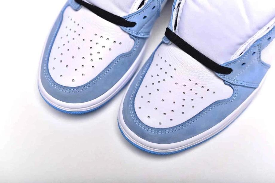 Jordan 1 Retro High White University Blue Black (10)