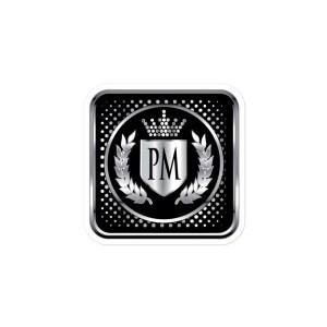 PM Bubble-free stickers