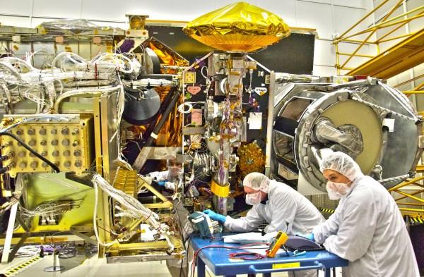 GPM Assembly at NASA Goddard | Precipitation Measurement ...