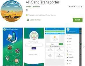 AP Sand Transporter app