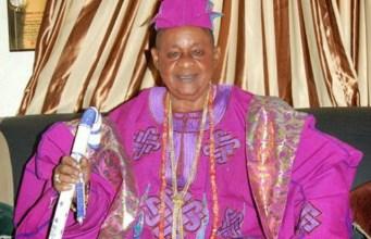 ...the Alaafin of Oyo, Oba Lamidi Adeyemi...