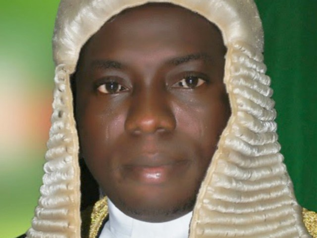 Rt Hon. Suraju Ishola Adekunbi, the Speaker, Ogun State House of Assembly...