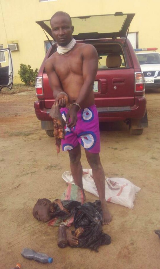 ...the ritualist with what police called 'human vagina...