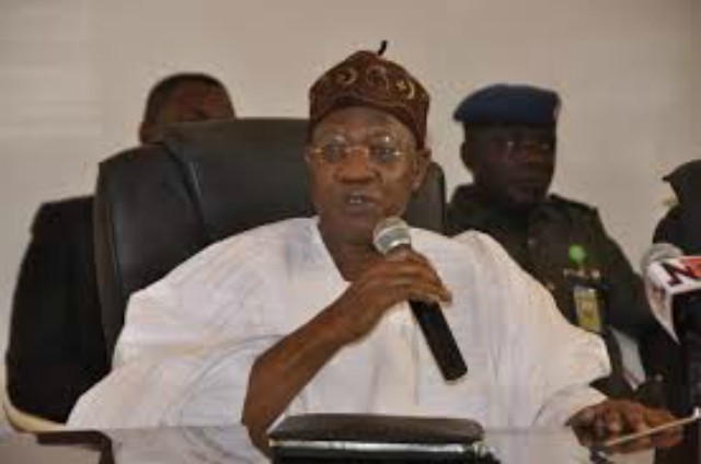 Alhaji Lai Mohammed, Nigeria's Information and Culture Minister...