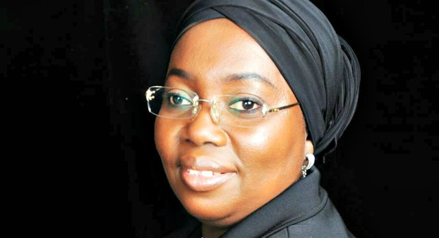 Idiat Adebule, the Deputy Governor of Lagos State...