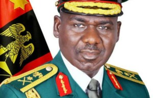 Lt. General Tukur Buratai, the Chief of Army Staff