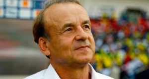 ...Gernot Rohr...the Coach of the Nigerian National Team...still in good books...