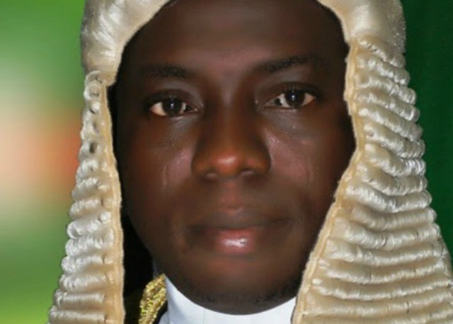 Suraj Ishola Adekunbi, the Speaker, Ogun State House of Assembly