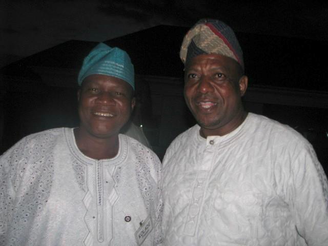 Fisayo Kolade, left, with Barrister Wole Adeosun...