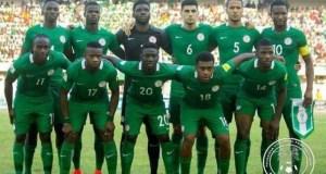 Super Eagles of Nigeria...aiming high...