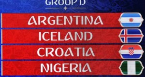 Group D...at this year's World Cup being organised by FIFA...