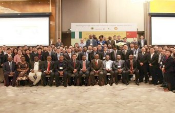 A cross section of participants at the Shell Nigeria Exploration and Production Company (SNEPCo) strategic sourcing development forum held in Shanghai, China in November 2017