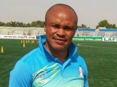 Dimeji Lawal...wishes the CHAN Eagles the very best...