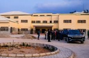 One of the model schools being constructed by the Abiola Ajimobi administration...